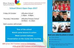 School Direct Open Days 2017