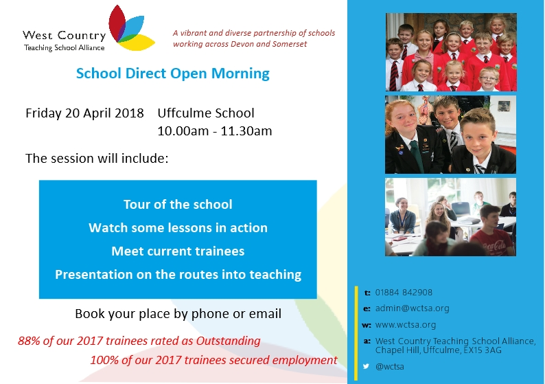 Open Morning April 2018